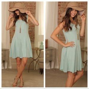 Infinity Raine Mint/Sage Dress